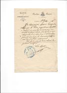 24-Pressignac- Attestation De Mairie D'arrachage De Vignes De Mr Clare (1936) - Unclassified