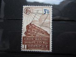 VEND BEAU TIMBRE DES COLIS POSTAUX DE FRANCE N° 208 , XX !!!! - Paketmarken