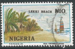 Nigeria. 1986 Nigerian Life. 10n Used. SG 525ba - Nigeria (1961-...)