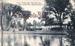 Town Pond And The Old Mill - East Hampton - Long Island - NY New York - Long Island