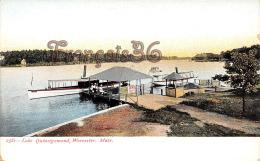 Lake Quinsigamond - Worcester - Mass MA Massachusetts - Worcester