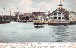 N Y Yacht Club Station - Newport - RI Rhode Island - Newport