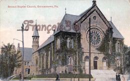 Second Baptist Church - Germantown - PA Pennsylvania - Etats-Unis