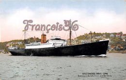 Baltimore Mail Line - MD Maryland - Norfolk Havre Hamburg - Baltimore