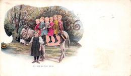 Loaded To The Neck - Donkey Children âne Enfants - CO Colorado - Etats-Unis