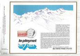 FEUILLET 1981 68 EME TOUR DE FRANCE CYCLISTE - LE PLEYNET - Cyclisme