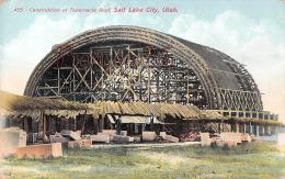 Construktion Of Tabernacle Roof - Salt Lake City - Utah - Salt Lake City