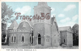 First Baptist Church - Reidsville - NC North Carolina - Etats-Unis