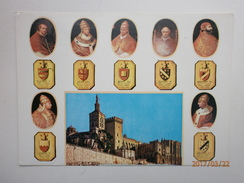 Postcard Avignon Multiview Les Sept Papes My Ref B2733 - Avignon