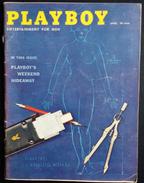 RIVISTA AMERICANA - PLAYBOY - APRIL 1959 - 232 E. HOIO ST. CHICAGO 11,ILLINOIS (AUTENTICA NO RISTAMPA) - 1950-oggi