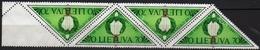 Lithuania 1991 Strip 4   V Used   50th Anniversary - Lithuania