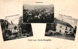 Groß-Mergthal...nette Alte Karte   (k5425  )  Siehe Bild - Tsjechië