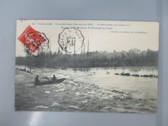 CPA 44 VARADES INONDATIONS DE 1910 ROUTE DE VARADES A SAINT FLORENT LE VIEIL - Varades