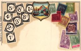 Motiv-Briefmarke  ...nette Alte Karte   (k6043 )  Siehe Bild