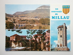 Postcard Millau Aveyron Capitale Des Grand Causses Multiview My Ref B2735 - Millau