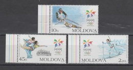 (S0848) MOLDOVA, 1998 (Winter Olympic Games, Nagano). Complete Set. Mi ## 263-265. MNH** - Moldova