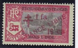 Inde N° 214 Neuf * - FRANCE LIBRE - India (1892-1954)