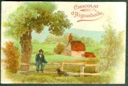 Chromo Chocolat Aiguebelle Paysage Ferme Landscape TBE - Aiguebelle