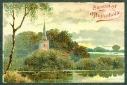 Chromo Chocolat Aiguebelle Paysage église Landscape TBE - Aiguebelle
