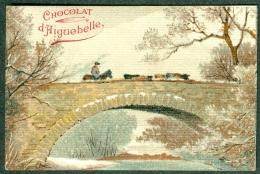 Chromo Chocolat Aiguebelle Paysage Pont Cavalier Landscape TBE - Aiguebelle