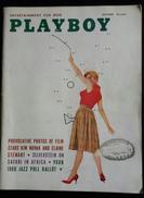 RIVISTA AMERICANA - PLAYBOY - OCTOBER 1959 - 232 E. HOIO ST. CHICAGO 11,ILLINOIS (AUTENTICA NO RISTAMPA) - 1950-oggi