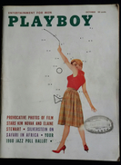 RIVISTA AMERICANA - PLAYBOY - OCTOBER 1959 - 232 E. HOIO ST. CHICAGO 11,ILLINOIS (AUTENTICA NO RISTAMPA) - Boeken, Tijdschriften, Stripverhalen