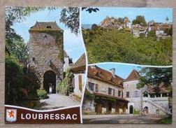 LOUBRESSAC (46). MULTIVUE ET ECUSSON . ANNEE 1992.TBE. - Autres Communes