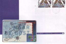 NEDERLAND * TELEBRIEF * TELELETTER * TELETETTRE  Nr. 12 * CHIPCARD MINT * ONGEBRUIKT  + POSTZEGELS STAMPS - Paesi Bassi