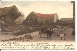 JALHAY Un Coin Du Village Cachet 1905 Avec Timbre Vers Pas Bas Dos Simple R 1056 D1 - Jalhay