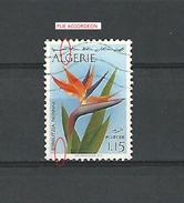Variétés 1973 N° 571 ALGÉRIE FLEURS  STRELITZIA REGINAE 1 D 15  OBLITÉRÉ  1.25 € - Algerije (1962-...)