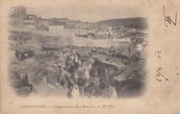 CONSTANTINE - Campement Des Beni Ramassès, Gel.1902 - Konstantinopel