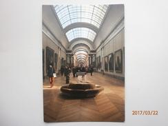 Postcard Paris Musee Du Louvre La Grande Galerie My Ref B2738 - Museum