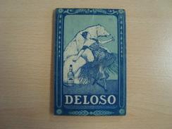 Calendrier Carnet Complet  DELOSO 1924 - Petit Format : 1921-40