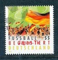 GERMANY Mi.Nr. 2930 Fußball Begeistert Deutschland - Used - BRD