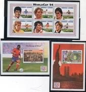 Sierra Leone 1994 --Coppa Del Mondo 94 -- Yvert 1808/13+BF 242/43 **MNH/ VF - World Cup
