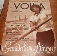 Voilà. N°322. 21 Mai 1937. Le Couronnement De Mrs Simpson. Le Général Speaker - Souvenirs De Mireille. - Livres, BD, Revues