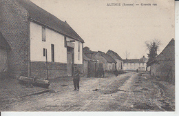 AUTHIE ( Somme ) - Grande Rue  PRIX FIXE - France
