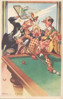 Sports - Billard - Humour - Postkaarten