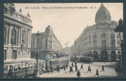 Lille - Place Du Théatre Vers Rue Faidherbe - Lille