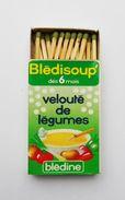 Boite D'allumettes Blédisoup Blédine - Seita France