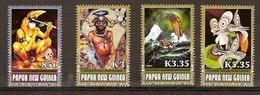 Papouasie Papua New Guinea 2007 Yvert 1191-1194 *** MNH Cote 12,15 Euro Hautes Valeurs - Papua-Neuguinea