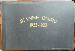 """Marine Militaire Française, La JEANNE D'ARC, Tour Du Monde En Photos  1922-1923  """"Rare""""  65 Pages De Photos"""