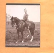 Foto Photo Von Karton 110mm X 85 Mm Deutsche Uhlan - Duitse Ulaan 1914 1918 - Guerre 1914-18