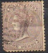 ROYAUME-UNI Et COLONIES ! Timbre Ancien De MAURICE De 1860 N°23 > 25€ - Maurice (...-1967)