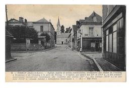 (13695-37) Noizay - Eglise - Mairie Et écoles Communales - Routes De Vouvray à Monteaux Et De Chançay à La Gare - Other Municipalities