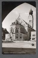 1963 ROSENHEIM LUDWIGSPLATZ MIT STADTPFARRKIRCHE FP V  SEE 2 SCANS - Rosenheim