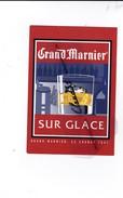 Grand Marnier Sur Glace...ça Change Tout.Liqueur Originale Crée En 1880 (N° 348) - Advertising