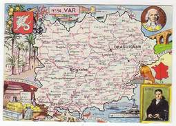 La Provence Ancienne,Var, N°84, Emblème, Hyères Les Palmiers, Barras, Sieyes, - Mapas