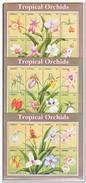 Liberia 2000, Postfris MNH, Flowers, Orchids ( First Sheet A Little Black From Stamp Album ) - Liberia