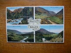 , Carte Assez Rare , Souvenir Of North Wales , Multi-vues - Pays De Galles